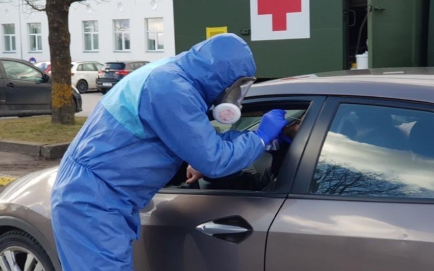 Estoniyada koronavirusa yoluxanların sayı 1 200-ü ötdü