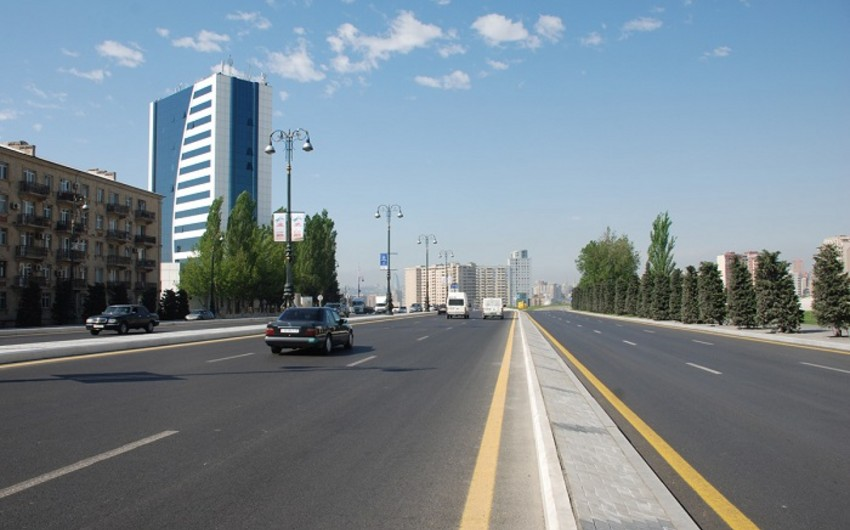 One more central street closed in Baku for repair