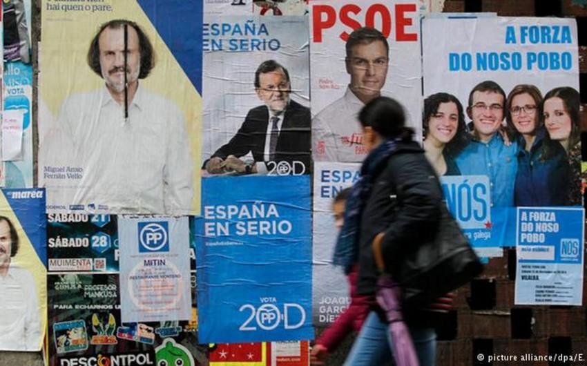 İspaniyada parlament seçkiləri keçirilir