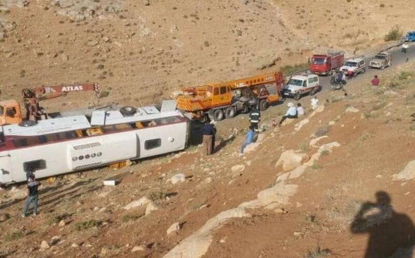 Три человека погибли в результате ДТП с автобусом в Иране