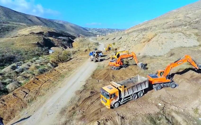 Tərtər rayonunda yeni yolların inşası planlaşdırılır