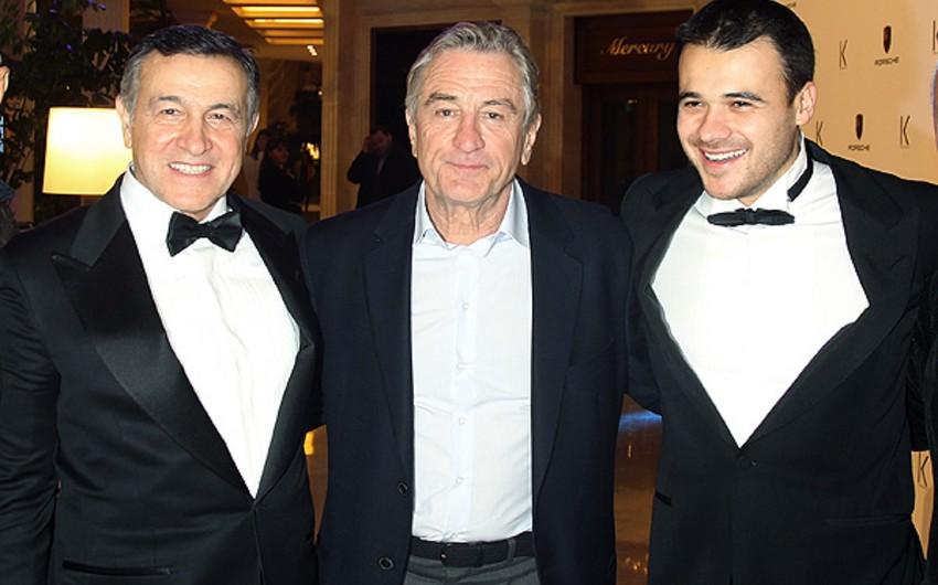 Robert De Niro azərbaycanlı sahibkarın ticarət mərkəzində restoran açıb