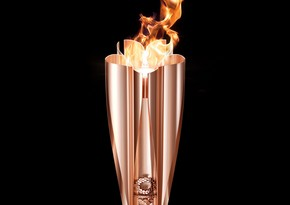 Olympic torch to go on display at Tokyo museum