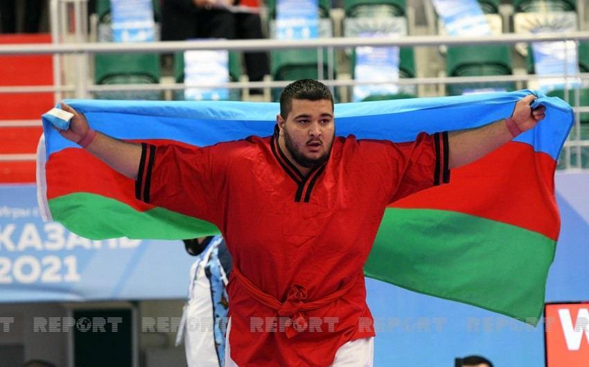 Azərbaycan idmançısı MDB Oyunlarından iki medalla qayıdır