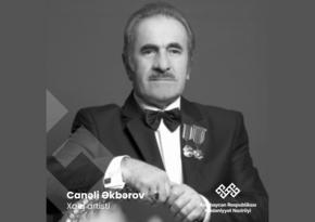Mədəniyyət Nazirliyi Canəli Əkbərovun ölümü ilə bağlı nekroloq yayıb