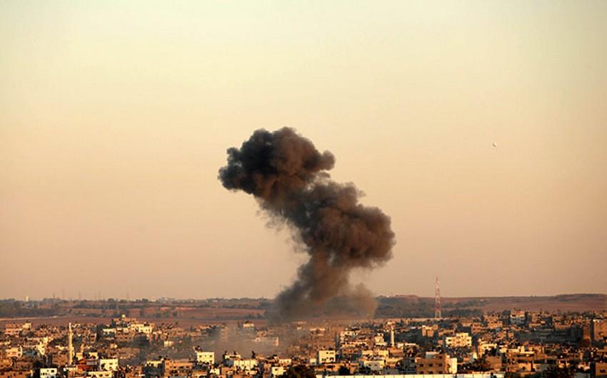 İsrail Suriyanın paytaxtına havadan zərbə endirib