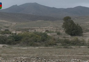 Cəbrayılın işğaldan azad edilən Minbaşılı kəndinin görüntüləri
