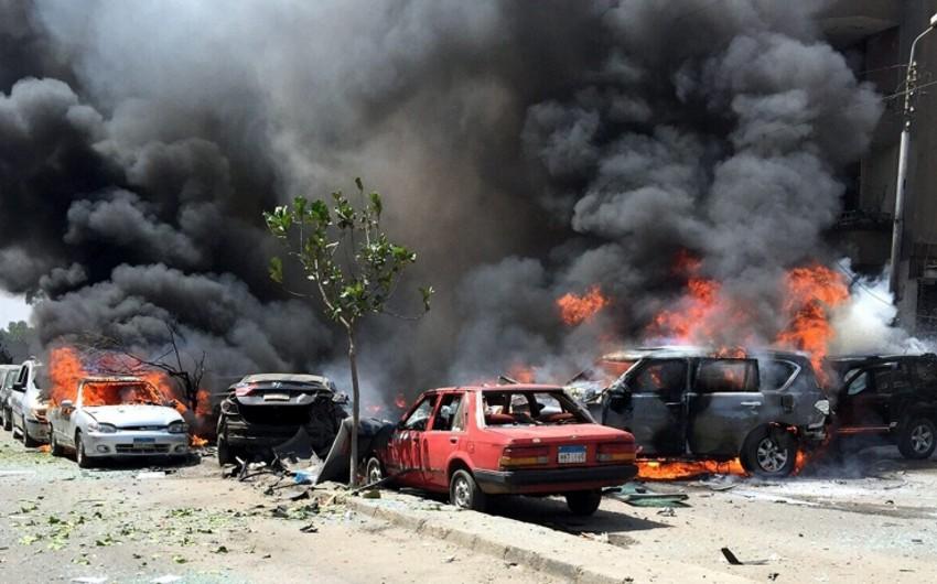 Misirdə avtomobilin partlaması nəticəsində 3 nəfər ölüb