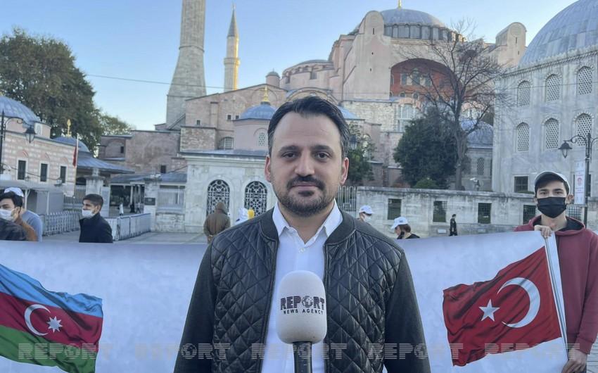 """Enes Eminoğlu: """"Azərbaycan-türk gənclər birliyini daha yüksək səviyyəyə qaldıracağıq"""""""