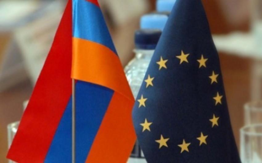 Yerevanda Avropa İttifaqı nümayəndəliyi qarşısında etiraz aksiyası keçirilir