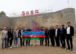 Делегация парламента Казахстана побывала в городах Шуша и Физули