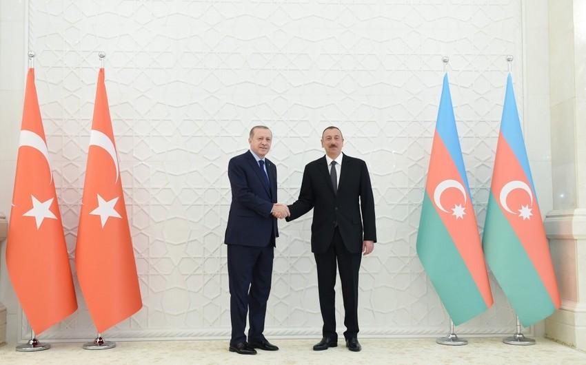 Bu gün Azərbaycan və Türkiyə prezidentlərinin görüşü olacaq