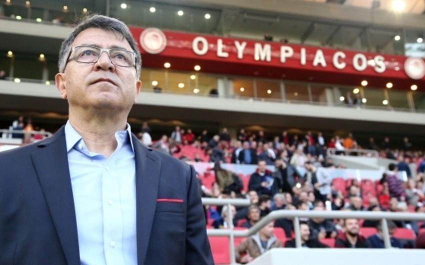 """Yuventusla oyun ərəfəsində """"Olimpiakos""""un baş məşqçisi dəyişib"""