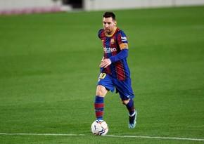 Messi La Liqada yeni uğura imza atdı