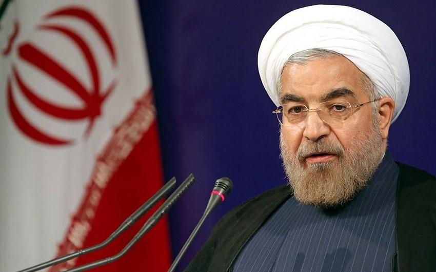 Ruhani: ABŞ təkbaşına İranın nüvə proqramı üzrə sövdələşməni ləğv edə bilməz