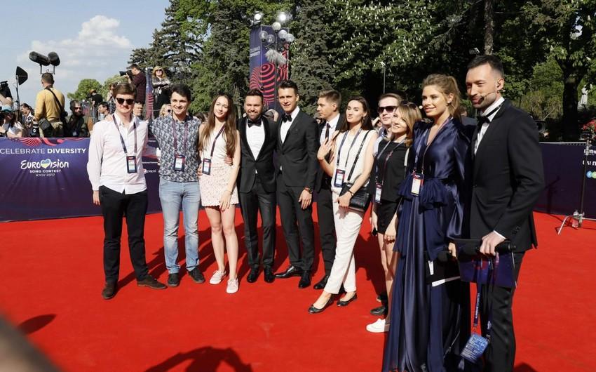 Kiyevdə Eurovision-2017 müsabiqəsinin açılışı olub