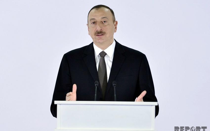 """Prezident İlham Əliyev: """"Türkiyə və Azərbaycan bütün məsələlərdə bir-birinin yanındadır"""""""