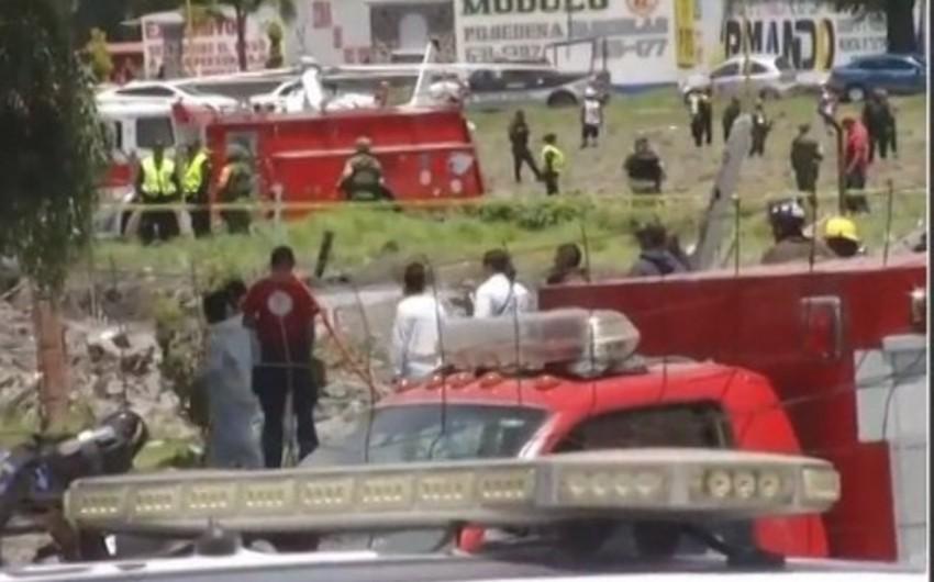 Meksikada partlayışlar nəticəsində ölənlərin sayı 24 nəfərə çatıb