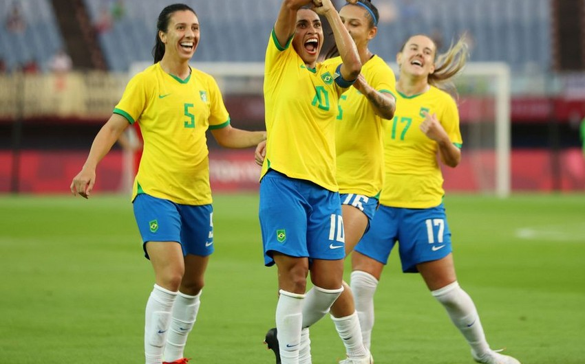 Tokio-2020: Braziliyalı futbolçu tarixə düşdü
