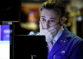 """ABŞ fond bazarı və """"Apple"""" səhmləri çöküb"""