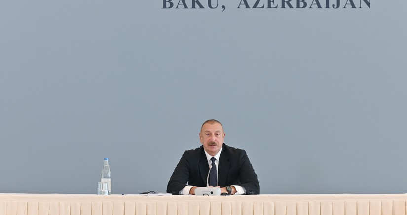 Azerbaijani president: If Armenia tries to take revenge, it will be completely destroyed