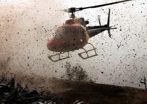 Tacikistanda helikopter qəzaya uğrayıb, 1 nəfər ölüb, 4 nəfər yaralanıb