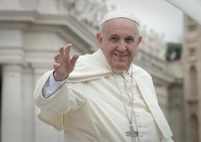 Roma Papası İraqda səfərdədir