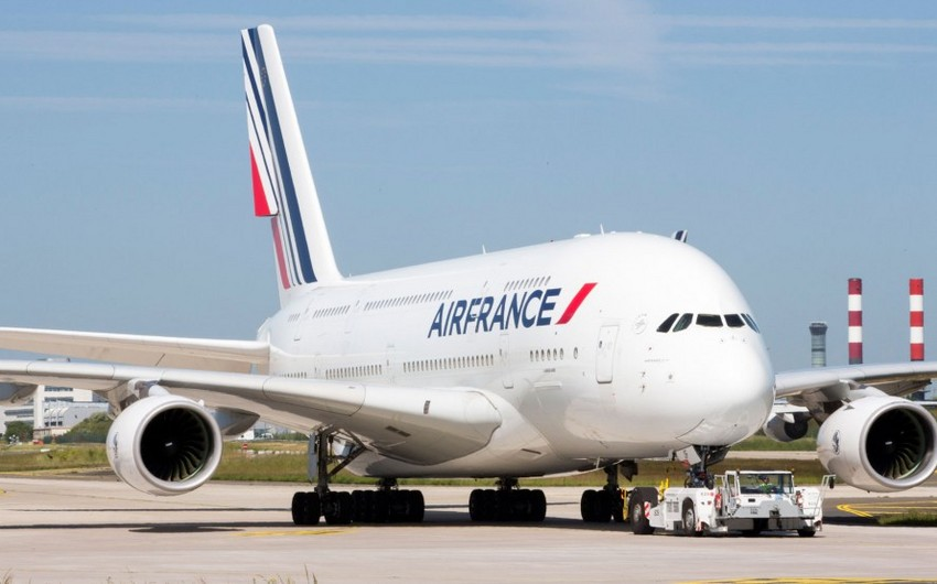 Air France işçilərinin tətilinə görə 300 mln. avro ziyana düşüb