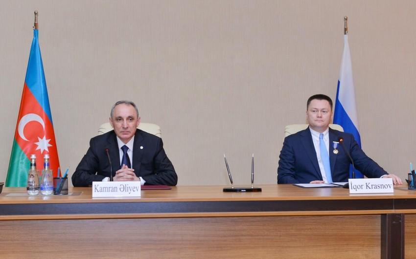 Rusiyanın Baş prokuroru Kamran Əliyevə zəng vurdu