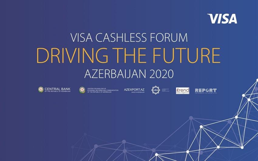 """Bakıda """"Visa Cashless Forum"""" işə başlayıb"""