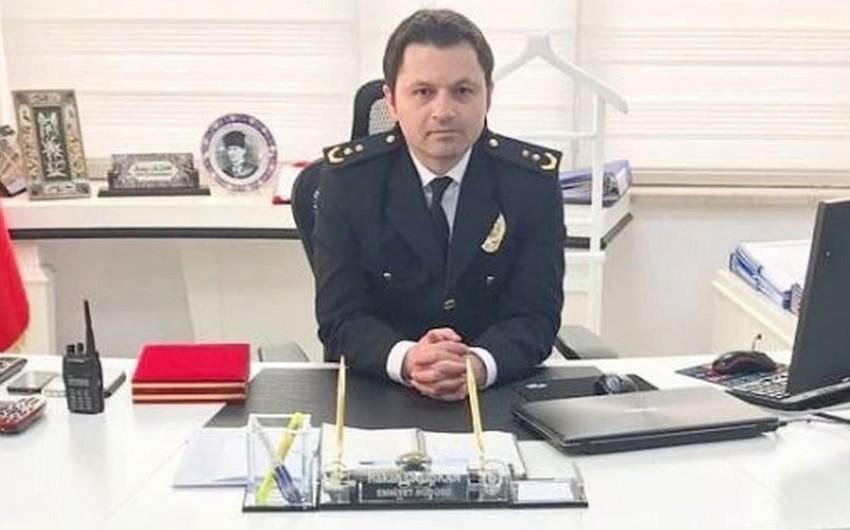 Türkiyədə polis rəisinin meyiti iş yerində aşkar edilib
