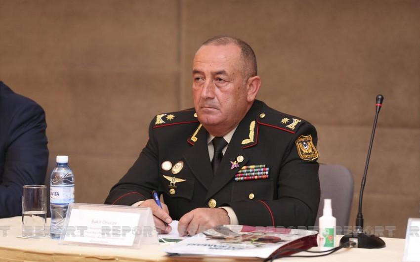 General Bəkir Orucov Müdafiə Nazirliyində yeni vəzifəyə təyin edilib