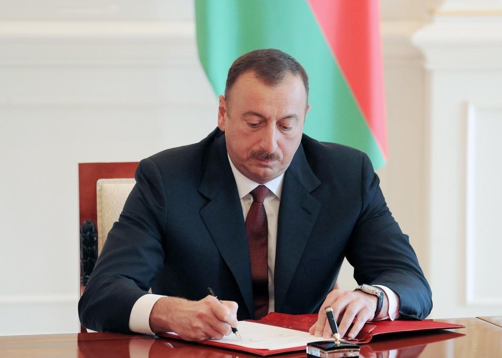 Президент Ильхам Алиев подписал распоряжение о награждении Зейнаб Ханларовой орденом Гейдар Алиев