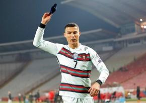 Роналду о скандальном эпизоде в матче с Сербией