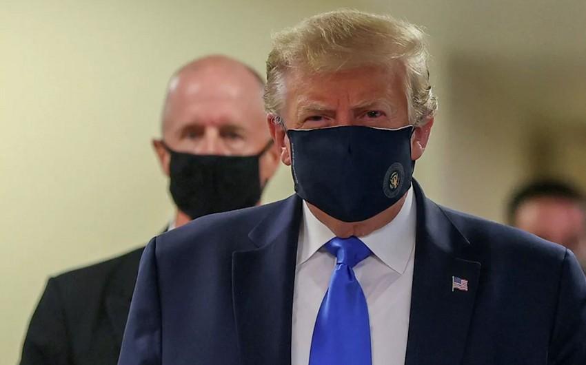 ABŞ Prezidenti Donald Tramp koronavirusa yoluxub