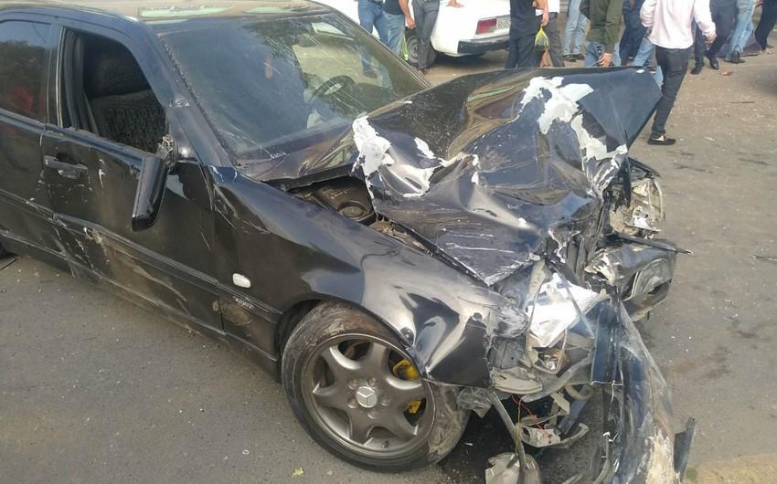 В Имишли произошло ДТП, есть пострадавший - ФОТО