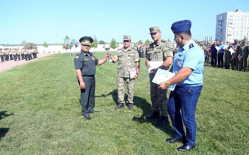 Azərbaycan Ordusunda yüngül atletika və gimnastika üzrə yarış keçirilib