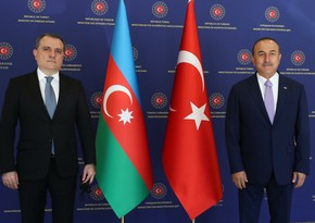 Azerbaijani, Turkish FMs hold meeting in Ankara