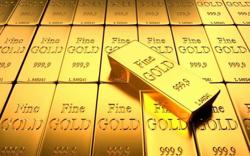 Dünya bazarında qızılın unsiyası 36 dollar ucuzlaşıb