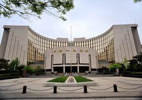 Çin Mərkəzi Bankı əsas faiz dərəcəsini dəyişməyib