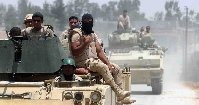 Misir ordusu Sinay yarımadasında 89 yaraqlını məhv edib