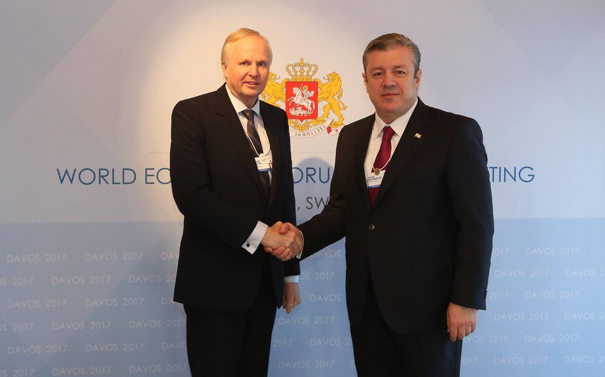 Georgian PM and BP CEO discuss South Caucasus oil and gas projects