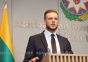 Глава МИД Литвы: Азербайджан - очень важный партнер в регионе