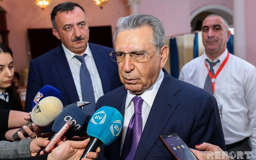 Ramiz Mehdiyev xaricdən Azərbaycana qarşı kampaniya aparılmasına münasibət bildirib