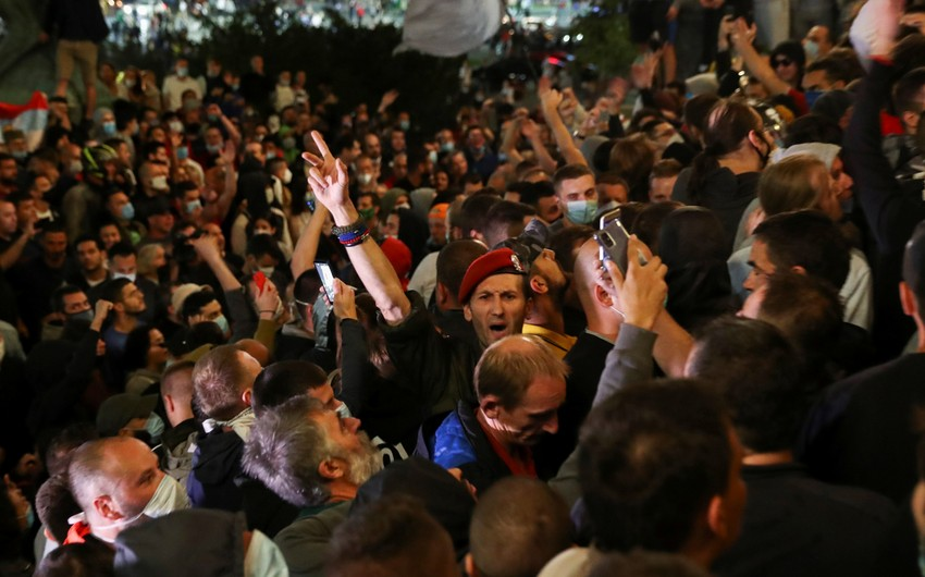 Serbia Protests agains COVID-19 restrictions, 36 injured