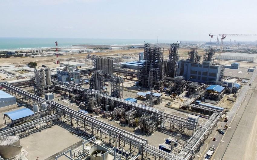 Azərbaycan polietilen ixracından gəlirini 64 % artırıb