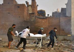 Hindistanda COVID-19-dan ölənlərin sayında yeni rekord qeydə alınıb