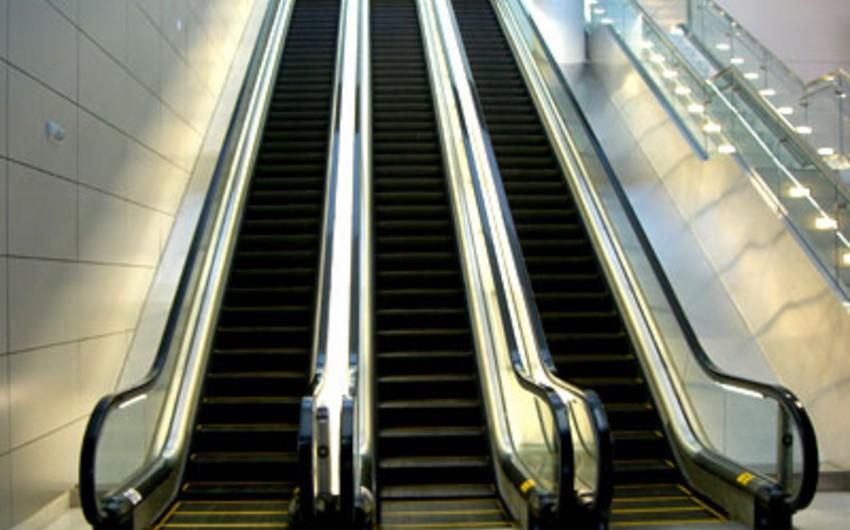 Sabah İnşaatçılar metro stansiyasının II vestibülü açılacaq