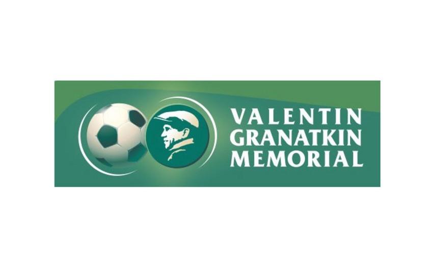 Сборная Азербайджана проведет первую игру в турнире, посвященном памяти Валентина Гранаткина