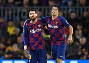 Luis Suaresdən Messiyə Barselona ilə bağlı təklif